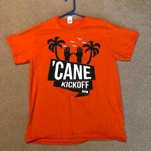 Cane Kickoff shirt